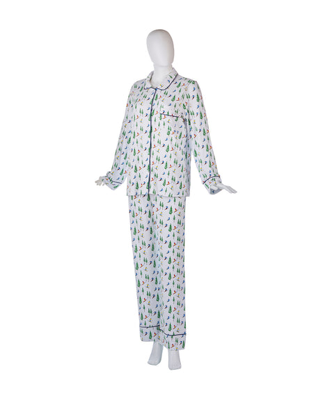 Ski Resort Pajama Set by WH Hostess