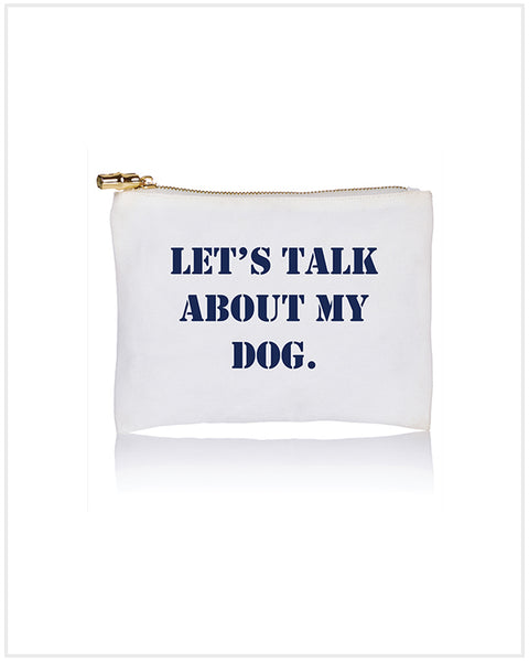 Talk Dog Flat Zip