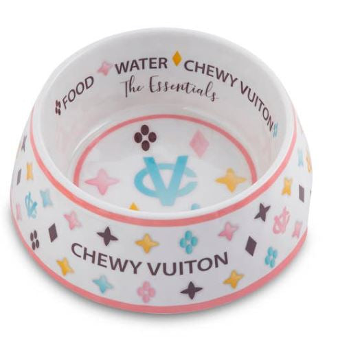 Chewy Vuiton Water Bowl