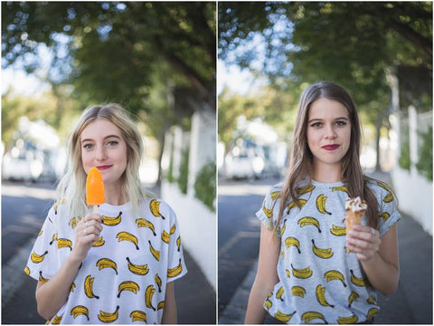 blood orange clothing cape town online store banana shirt ice cream pop sicle