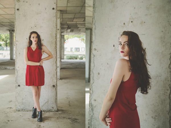 Red Marie Dress