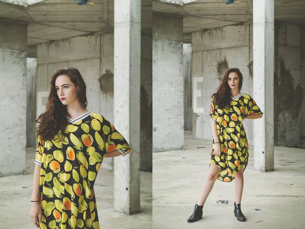 Oh So Sour Citrus Dress