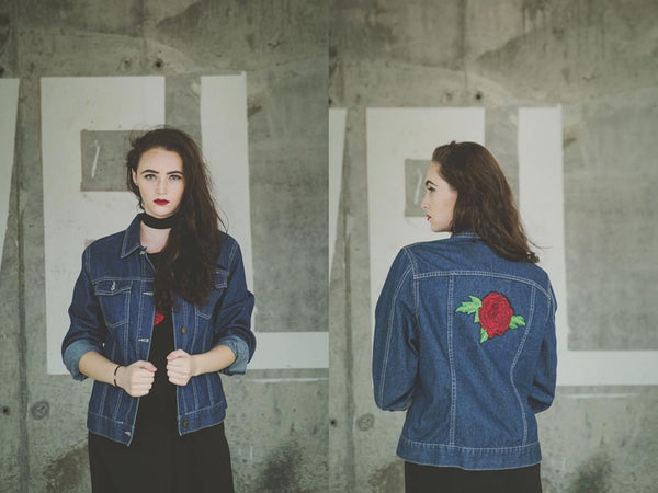 Eye Of The Rose Denim Jacket