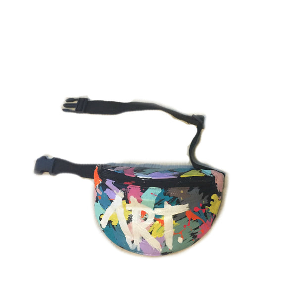 """MasterPiece"" Genuine Leather Fanny Pack"