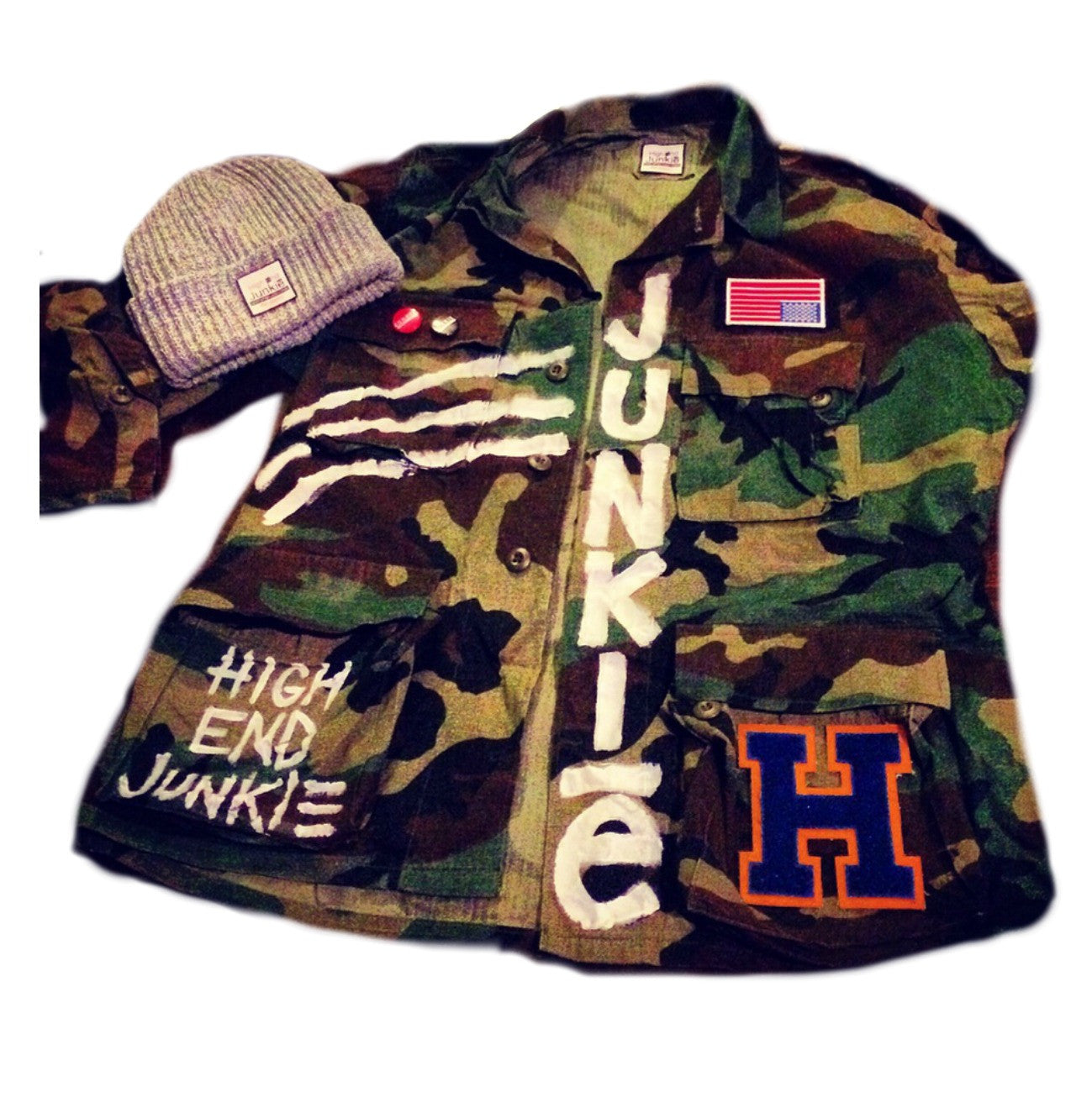 The Brave Camo Jacket
