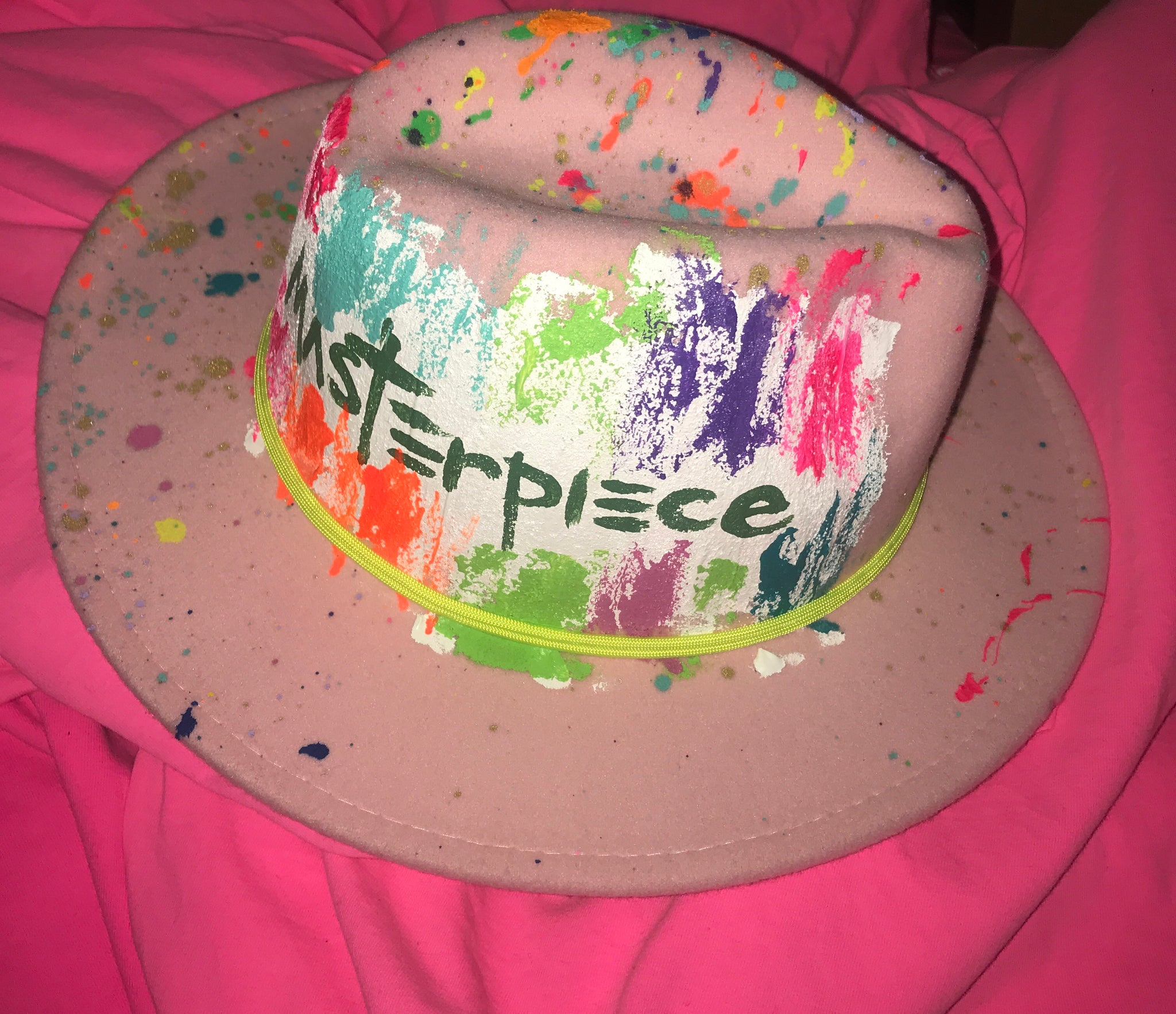 "A ""MasterPiece"" Hand Painted Fedoras"