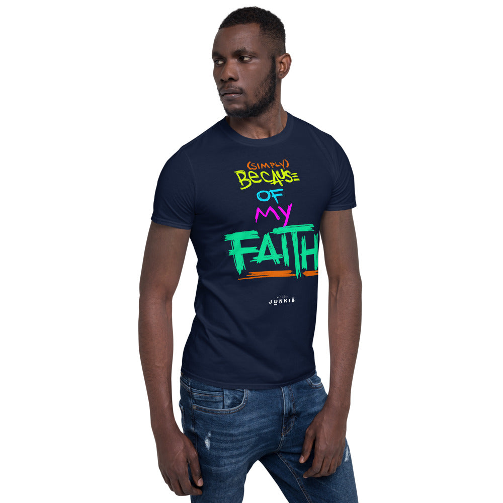 HIGHer Faith Short-Sleeve Unisex T-Shirt