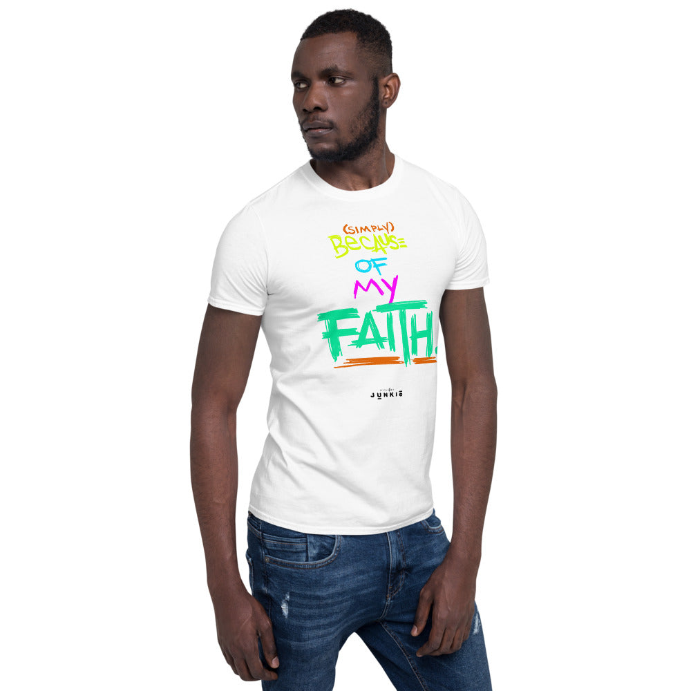 HIGHer Faith Short-Sleeve Unisex T-Shirt (Light Colors)