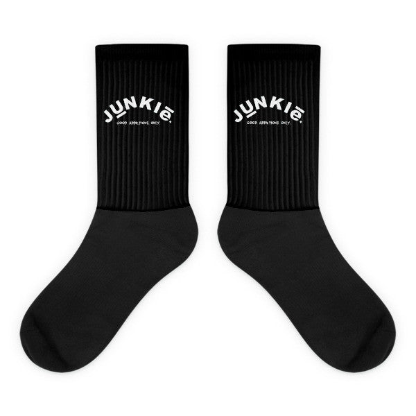 Black Junkie Socks