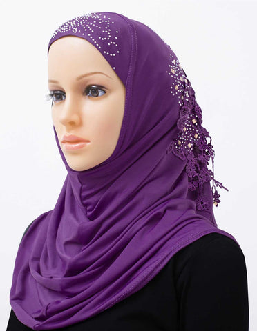Set of 20 Amour Amira Hijab Headscarves - 2 of each color.