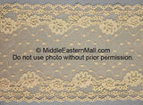 Lace Headband # 1 Beige