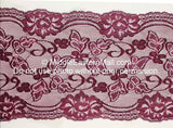 Lace Headband #16 Plum