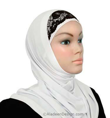 Lace Headband  #19 Black