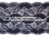 Lace Headband # 2 Navy Blue