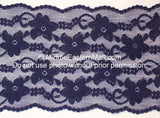 Lace Headband #22 Indigo Blue