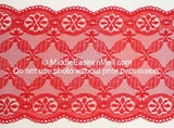 Lace Headband # 3 Red