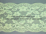 Lace Headband # 9 Mint Green