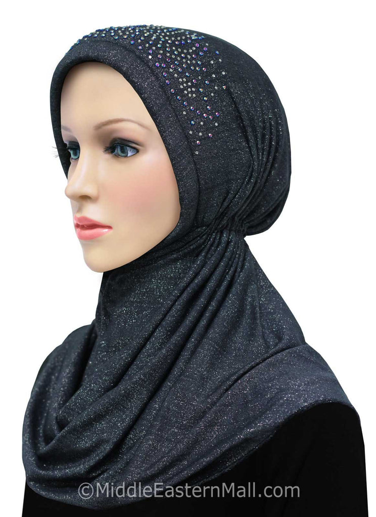 Wholesale Set of 24 Khatib Turban Hijabs in 10 Different Assorted Color