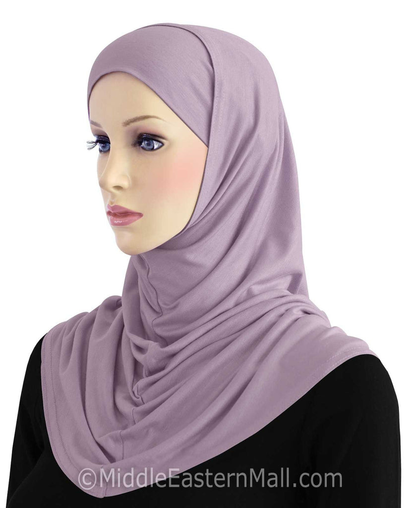 Wholesale 2 dozen  Cotton 2 piece Hijabs in STANDARD LENGTH in 12 Colors 2 of each color