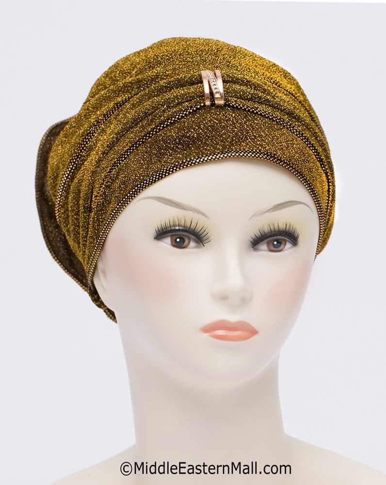 Wholesale One DOZEN Dazzle Hijab Caps - 6 Colors per Dozen 2 per each color