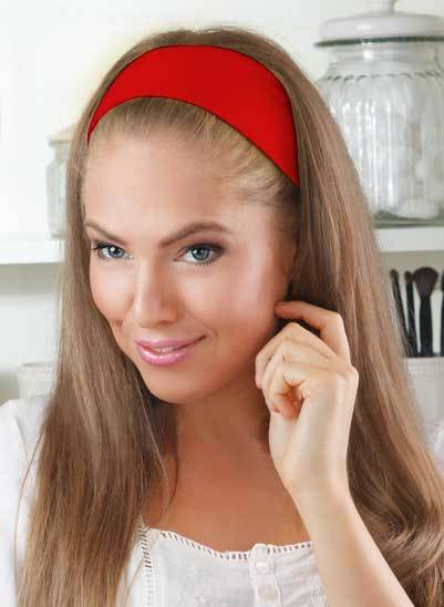 Wholesale 2 Dozen of Classic poly headband 8 different colors