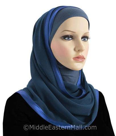 Wholesale 3 Dozen Khatib Kuwaiti Mona Hijabs in 18 different colors 2 of each Color