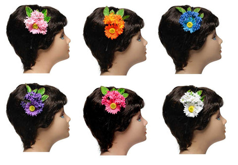 Wholesale Set of 15 Maisy Daisy Headbands in 5 Different Colors