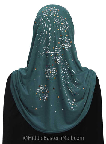 Wholesale 2 Dozen Fireflower Lycra Amira 1 piece Hijab Comes in 14 Assorted Colors