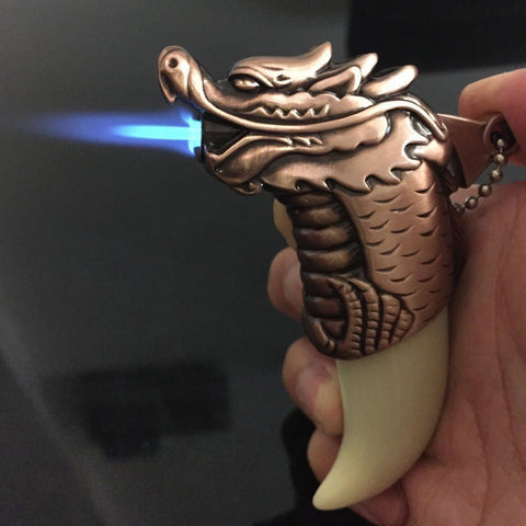 Refillable Dragon Cigarette Lighter