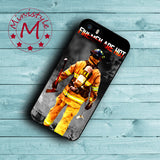Firefighter Fireman Case for iPhone 6S Plus/6S/SE/5S/5C/5/4S/4/Touch 6 5