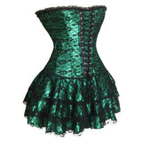 Waist training corsets steampunk corselet gothic Plus Size