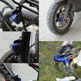 Bicycle & Motorcycle Alarm Disc Lock