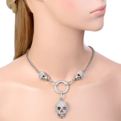High Quality Skull Necklace