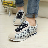 Men's Skull Flat Shoes