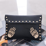 Skull Evening Clutch Purse