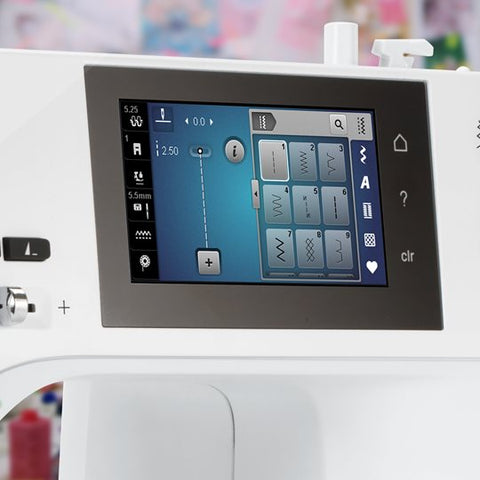 bernina 435 touchscreen navigation