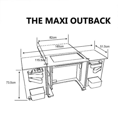 maxi outback dimensions
