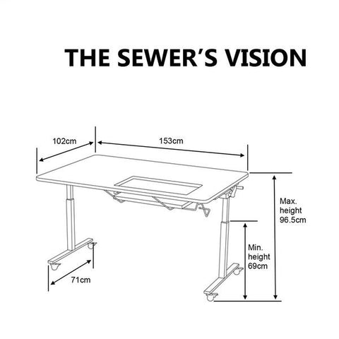 sewer's vision dimensions