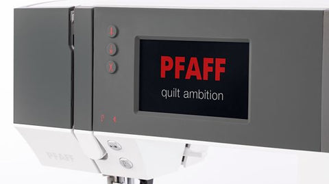 Pfaff Ambition 630 screen
