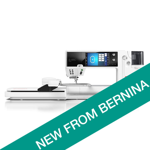 NEW Bernina 880e PLUS (with Embroidery unit)