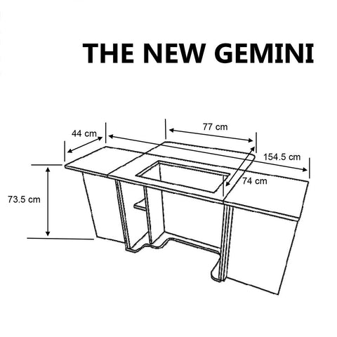 The NEW Gemini 2011 Horn Cabinet Sewing Storage