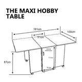 The Maxi Hobby Table 2005 Horn Cabinet