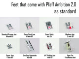 Pfaff Quilt Ambition 2.0 (Ex-Demo)