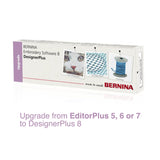Upgrade BERNINA Embroidery Software 8.1 DesignerPlus