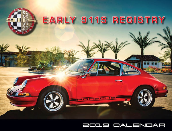 2019 Early 911s Registry Calendar