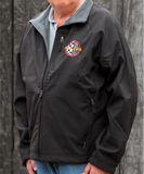 Soft Shell Microfleece Bonded Full-Zip Jacket