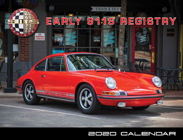 2020 Early 911s Registry Calendar