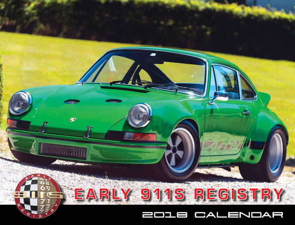 2018 Early 911s Registry Calendar