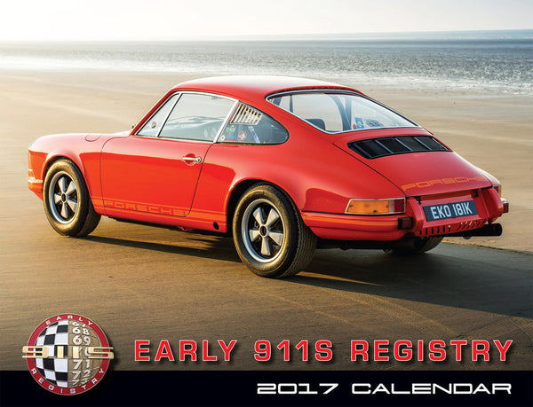 2017 Early 911s Registry Calendar