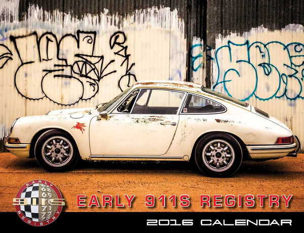 2016 Early 911s Registry Calendar